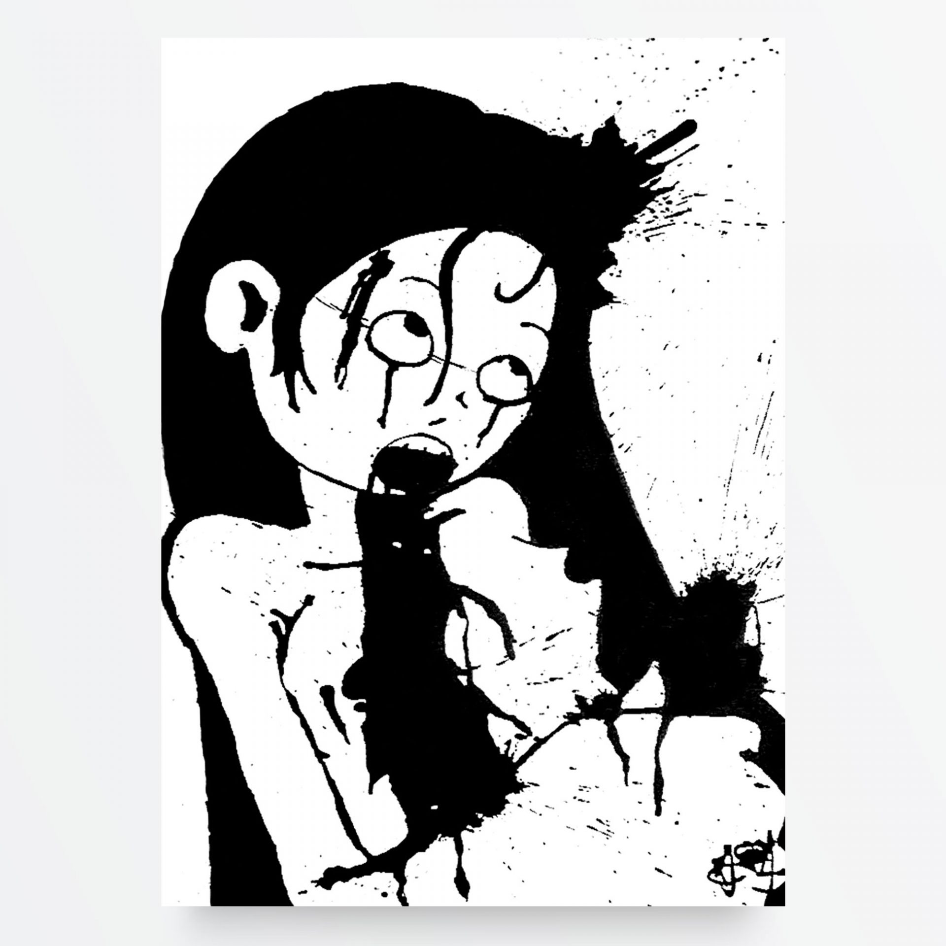 Dark Art, LowBrow Art, Punk Art e Horror Art- Uccidimi Ancora Crudele di Diego Gabriele