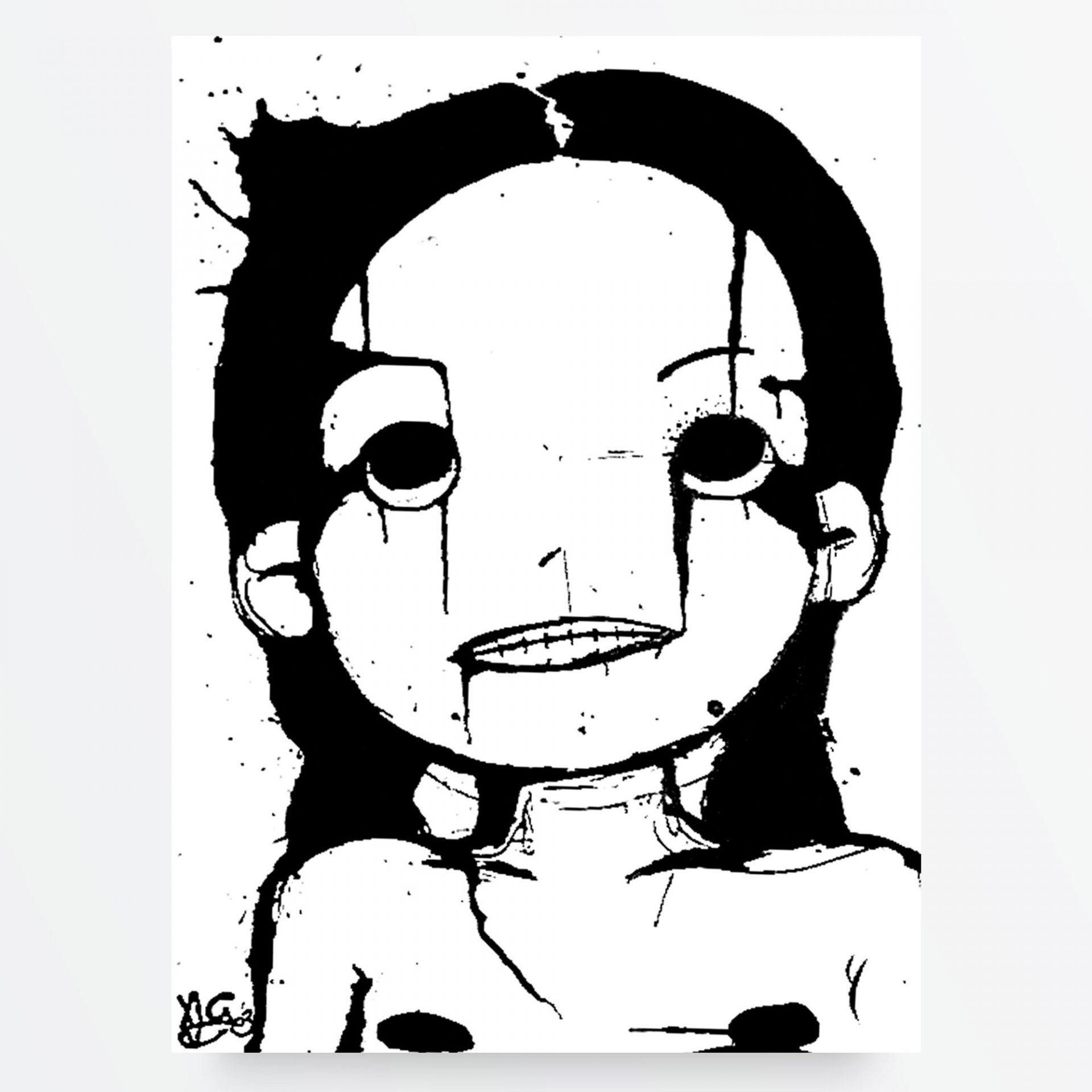 Dark Art, LowBrow Art, Punk Art e Horror Art- Uccidimi Ancora Prima Volta di Diego Gabriele