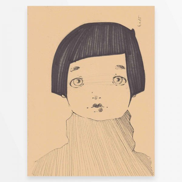 2015 Inktober Claudia Disegni Originali Diego Gabriele