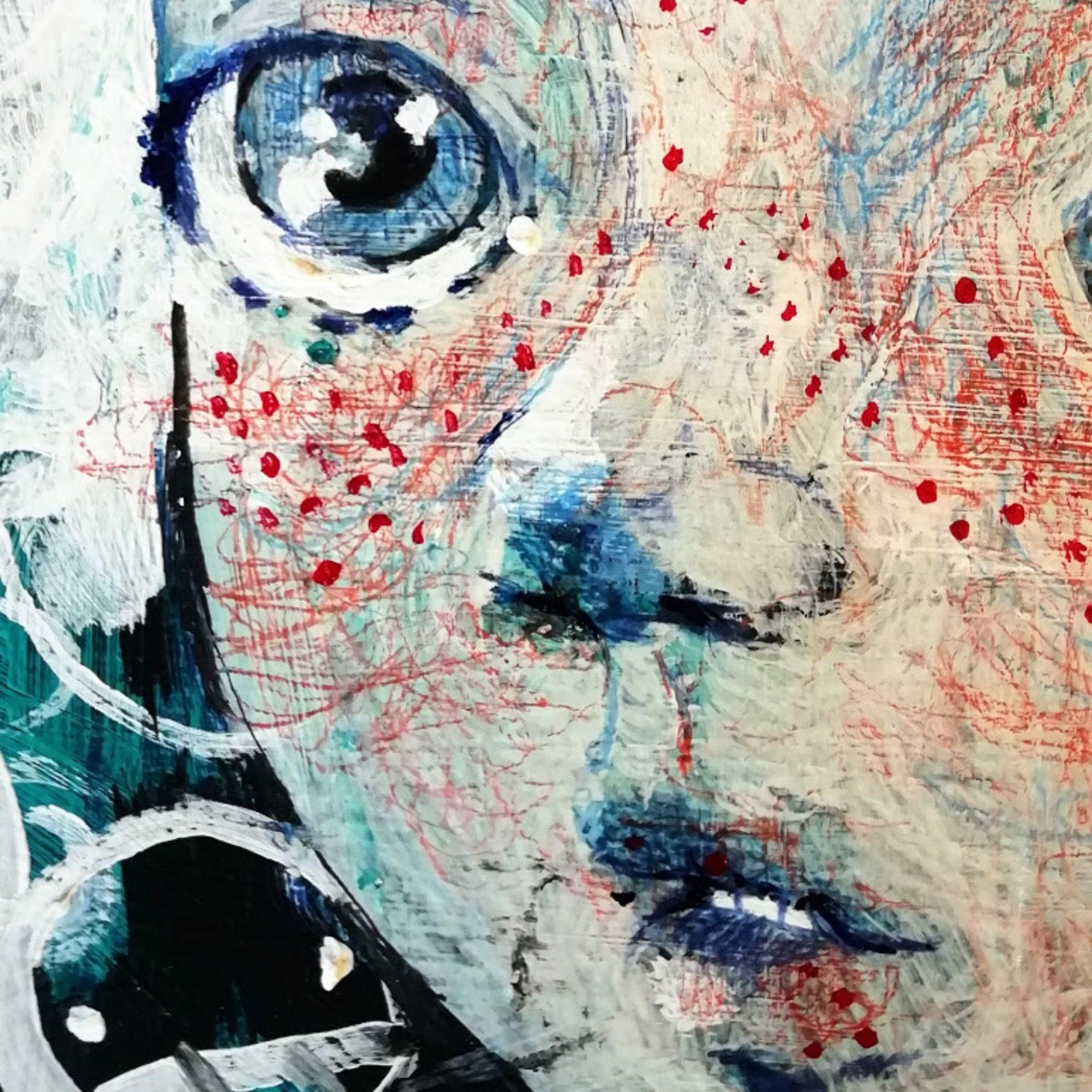 2019 Faccine quadro ad acrilico originale di Diego Gabriele