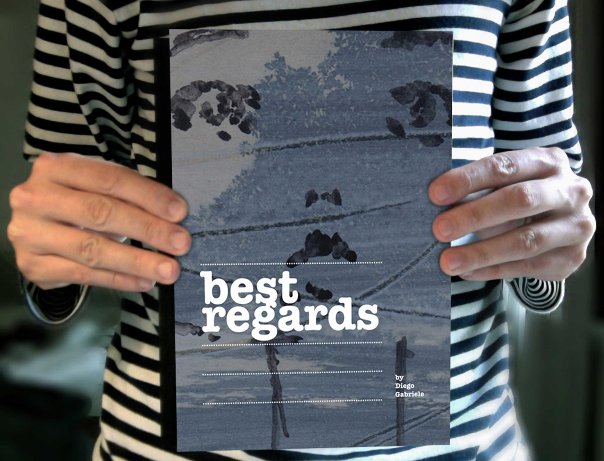 Best Regards Artbook e libro illustrato per Adulti di Diego Gabriele