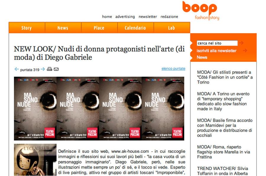 Boop Fashion Story intervista a Diego Gabriele
