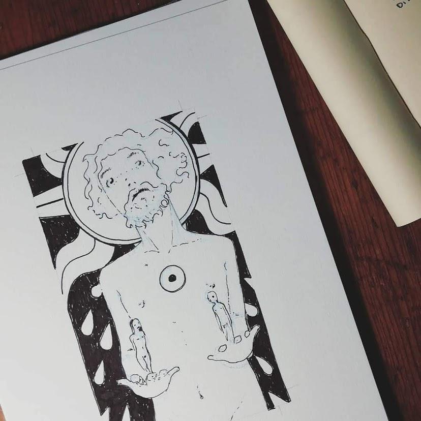 Il Sole - Tarocchi d'artista di Diego Gabriele