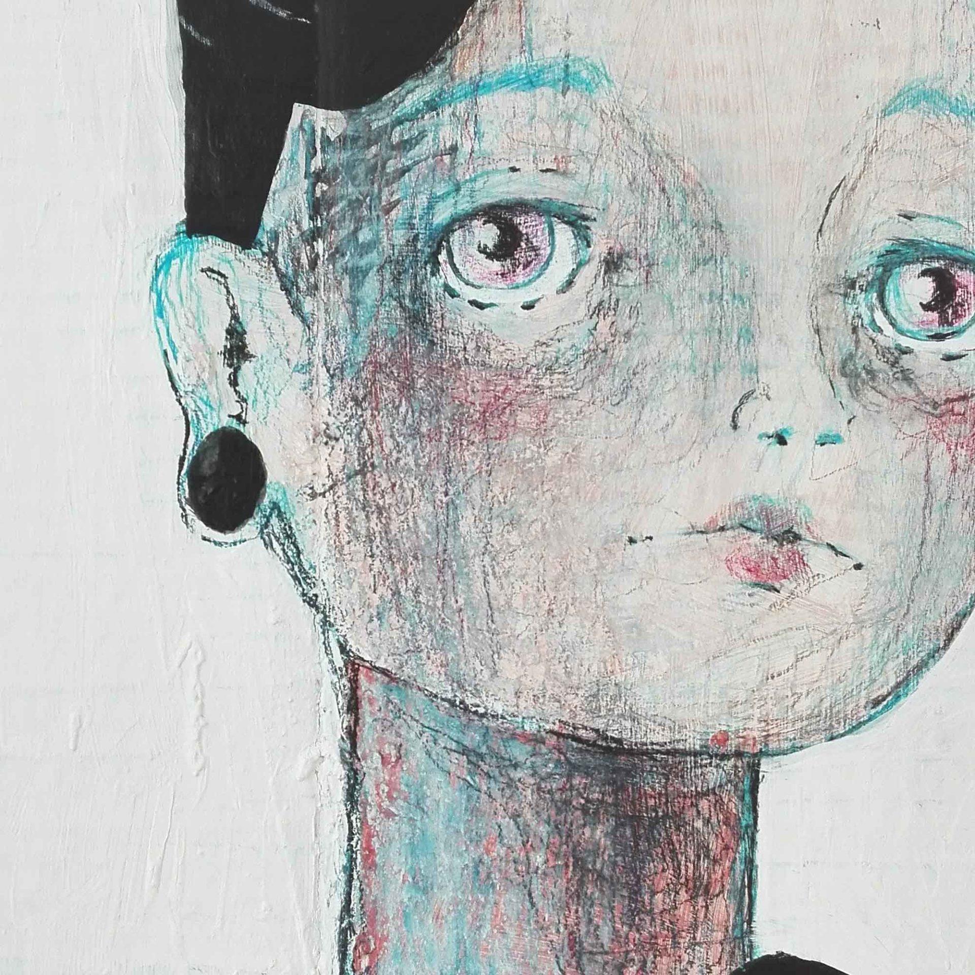2015 Burnout 1999 Pittura Contemporanea di Diego Gabriele