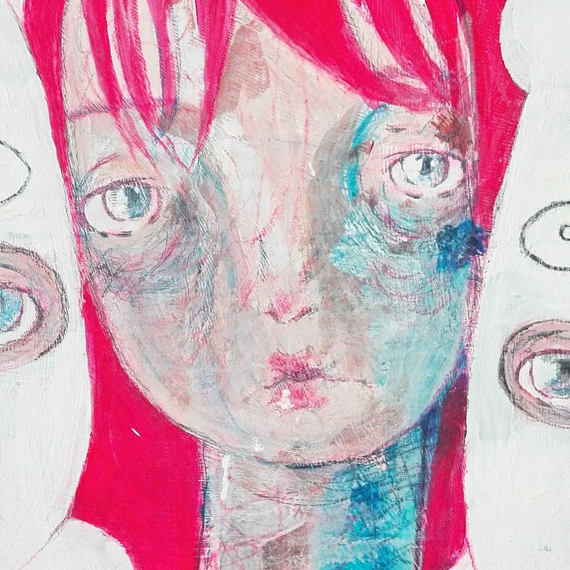 2015 Burnout Amichetti Pittura contemporanea Diego Gabriele