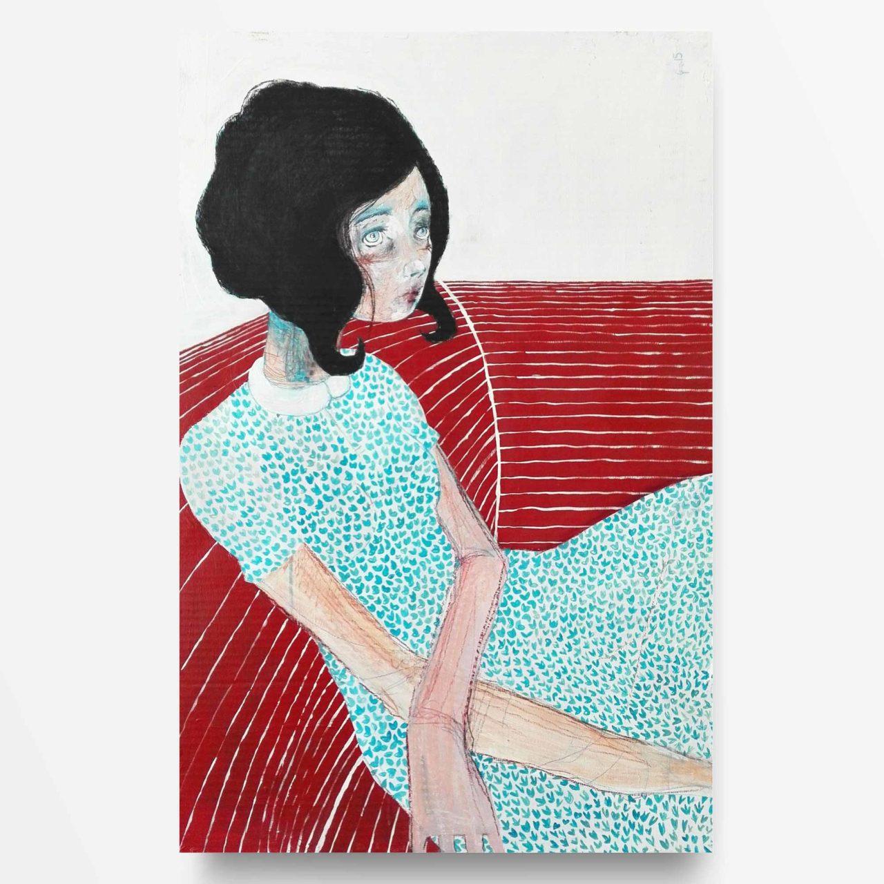 2015 Burnout Attesa Pittura contemporanea Diego Gabriele