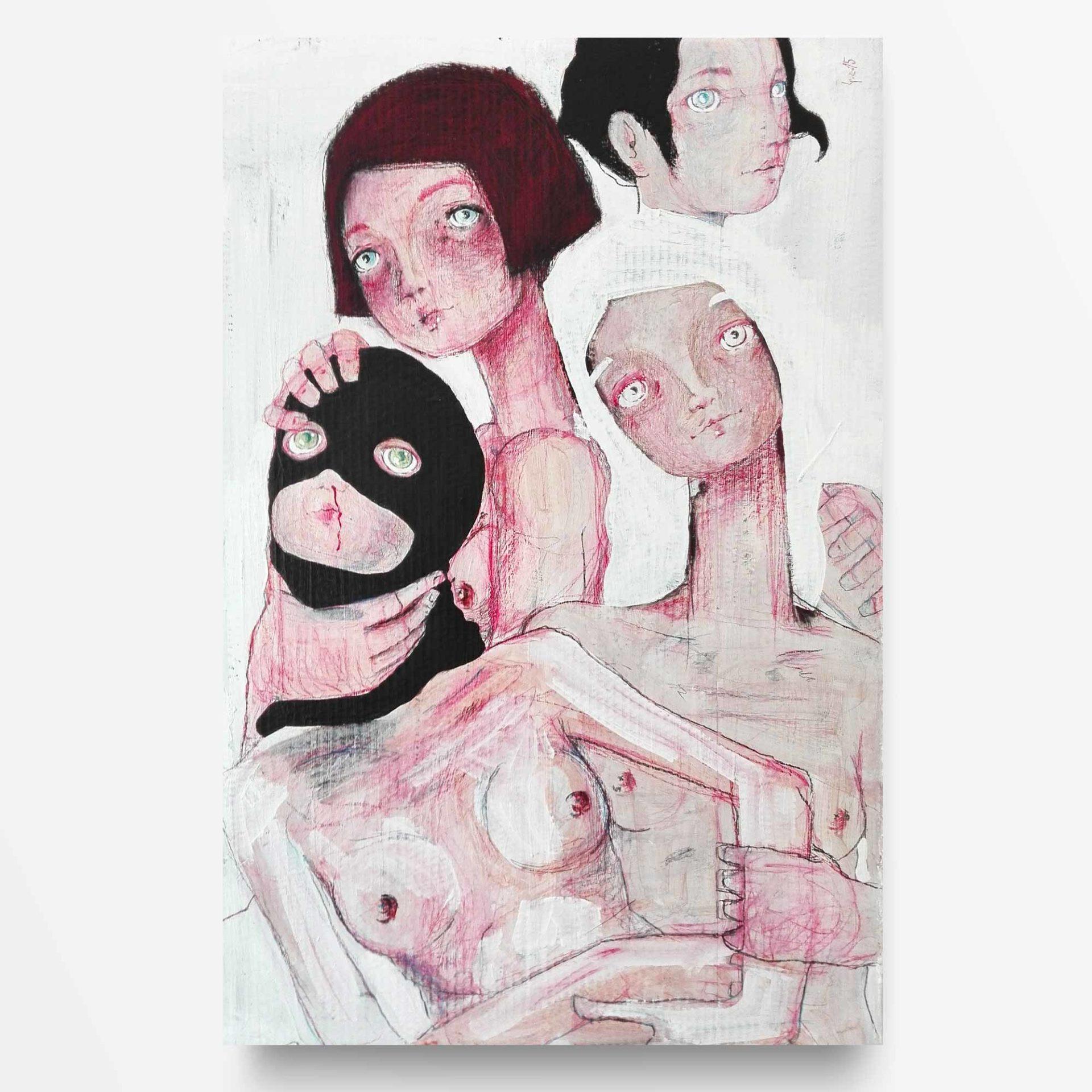 2015 Burnout Personalità Pittura contemporanea di Diego Gabriele
