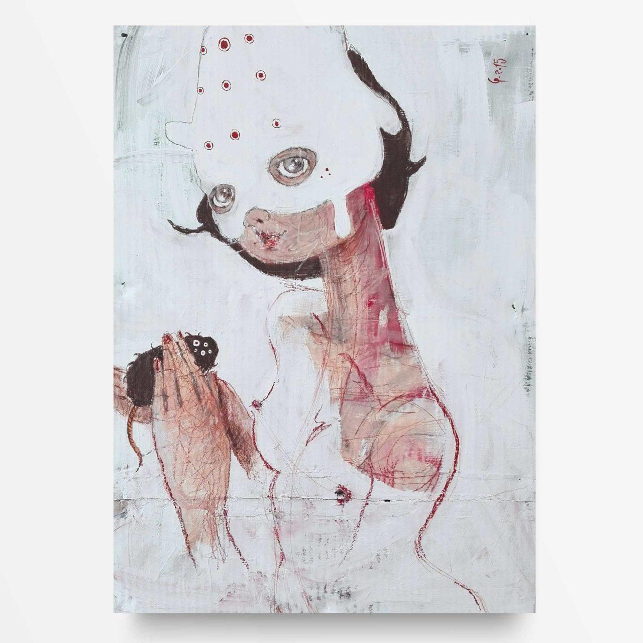 2015 Gaia Dea della Terra Quadro Arte Sacra Diego Gabriele