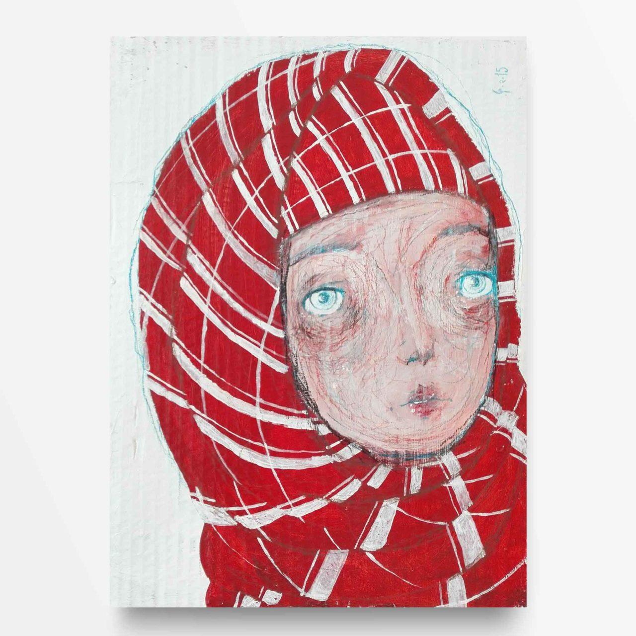 2015 Burnout Ragazza con Hijab di Diego Gabriele