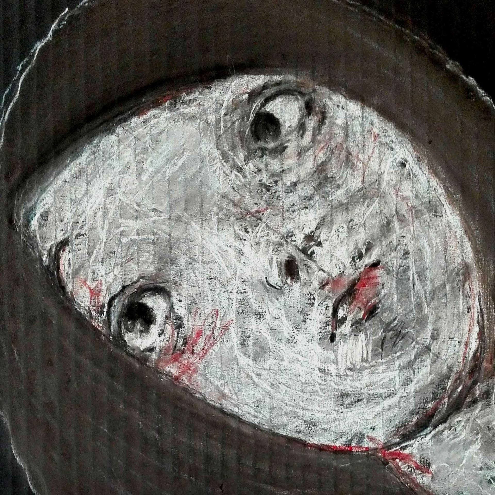 2012 Fondi neri, quadro ad acrilico di Diego Gabriele