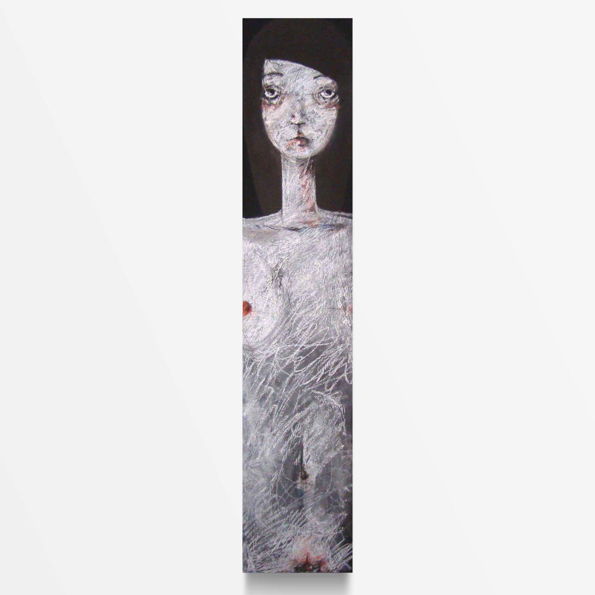 2012 Fondi Neri Totem, quadro ad acrilico di Diego Gabriele