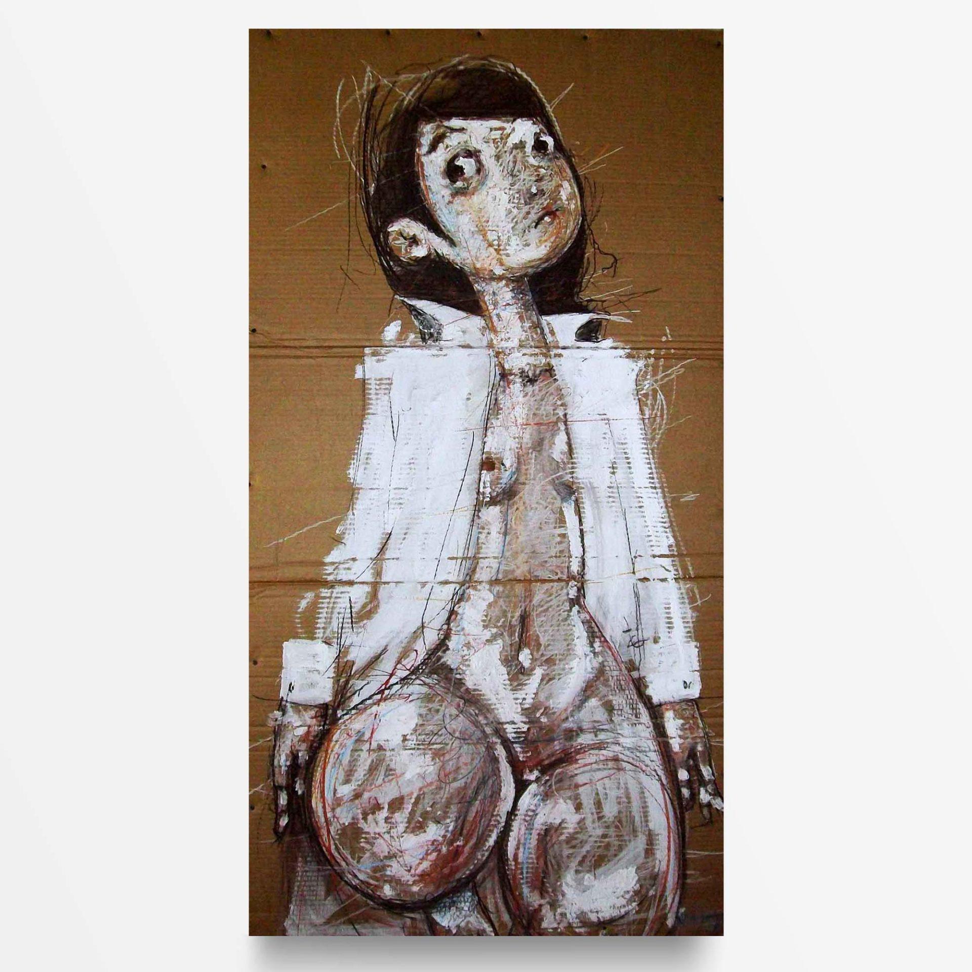 2012 Ma sono nude Camicia, quadro ad acrilico di Diego Gabriele