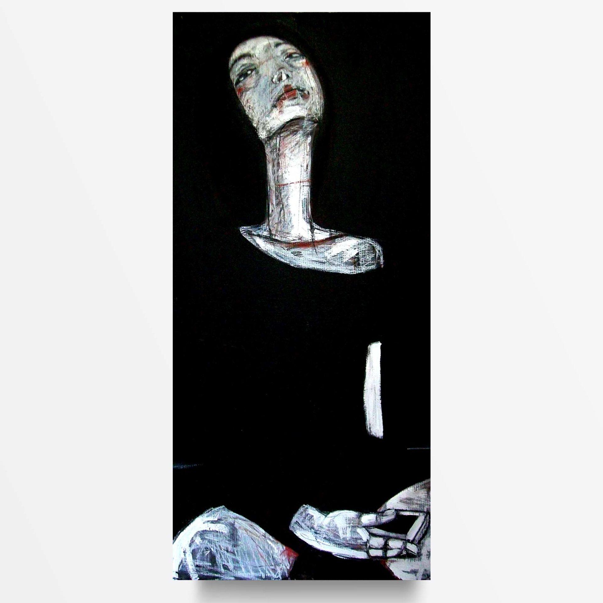 2013 Anni Dieci Prostituta, quadro ad acrilico di Diego Gabriele