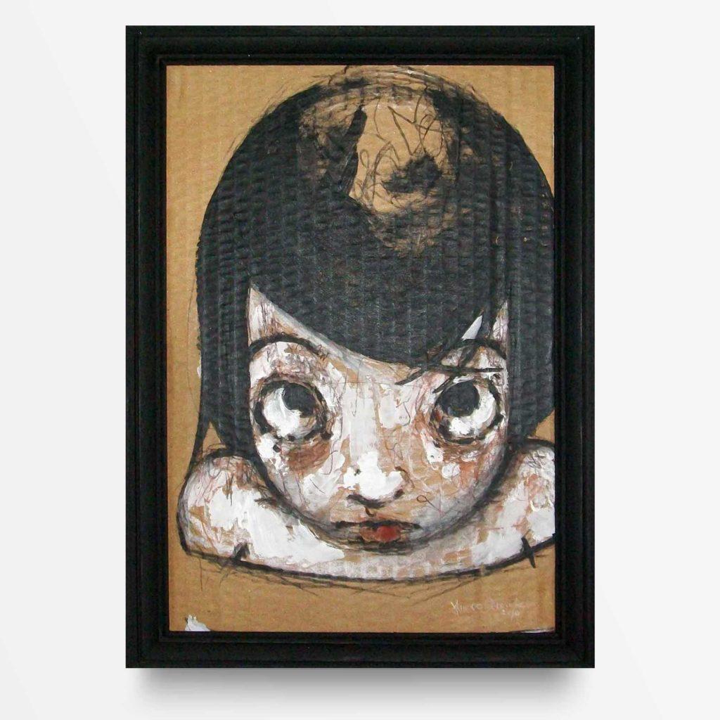 Lowbrow art Mentre Guardi di Diego Gabriele