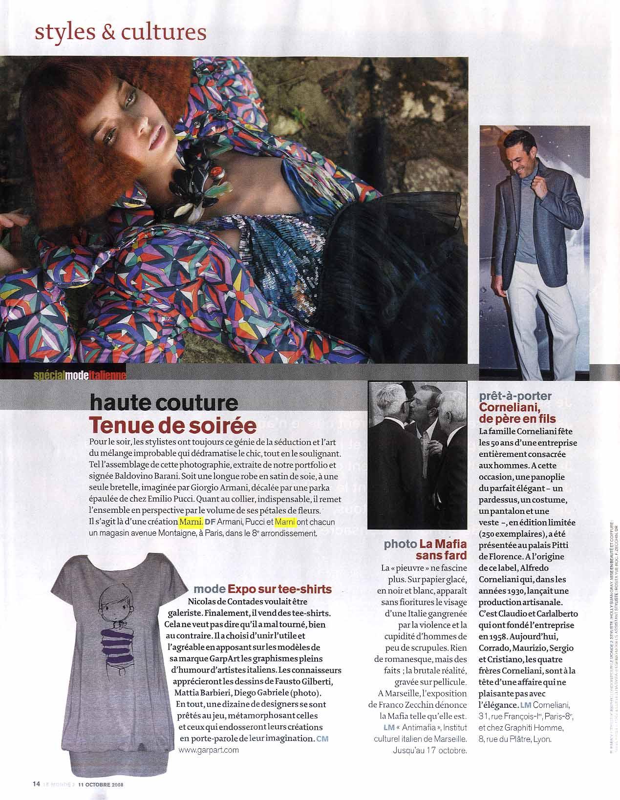 2008 Ottobre - Le Monde 2