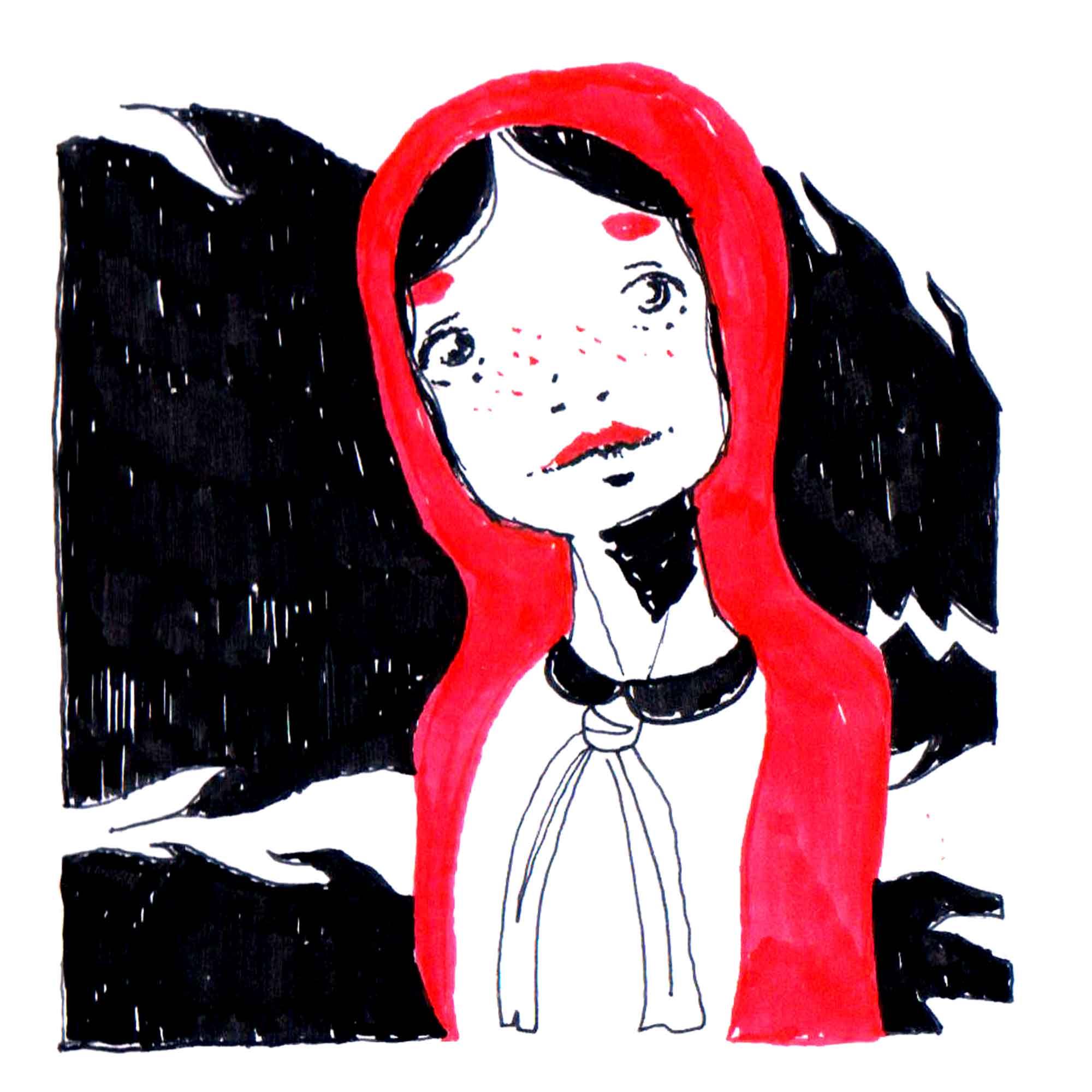 cappuccetto rosso fiaba illustrata diego gabriele 01 cappuccetto rosso fiaba