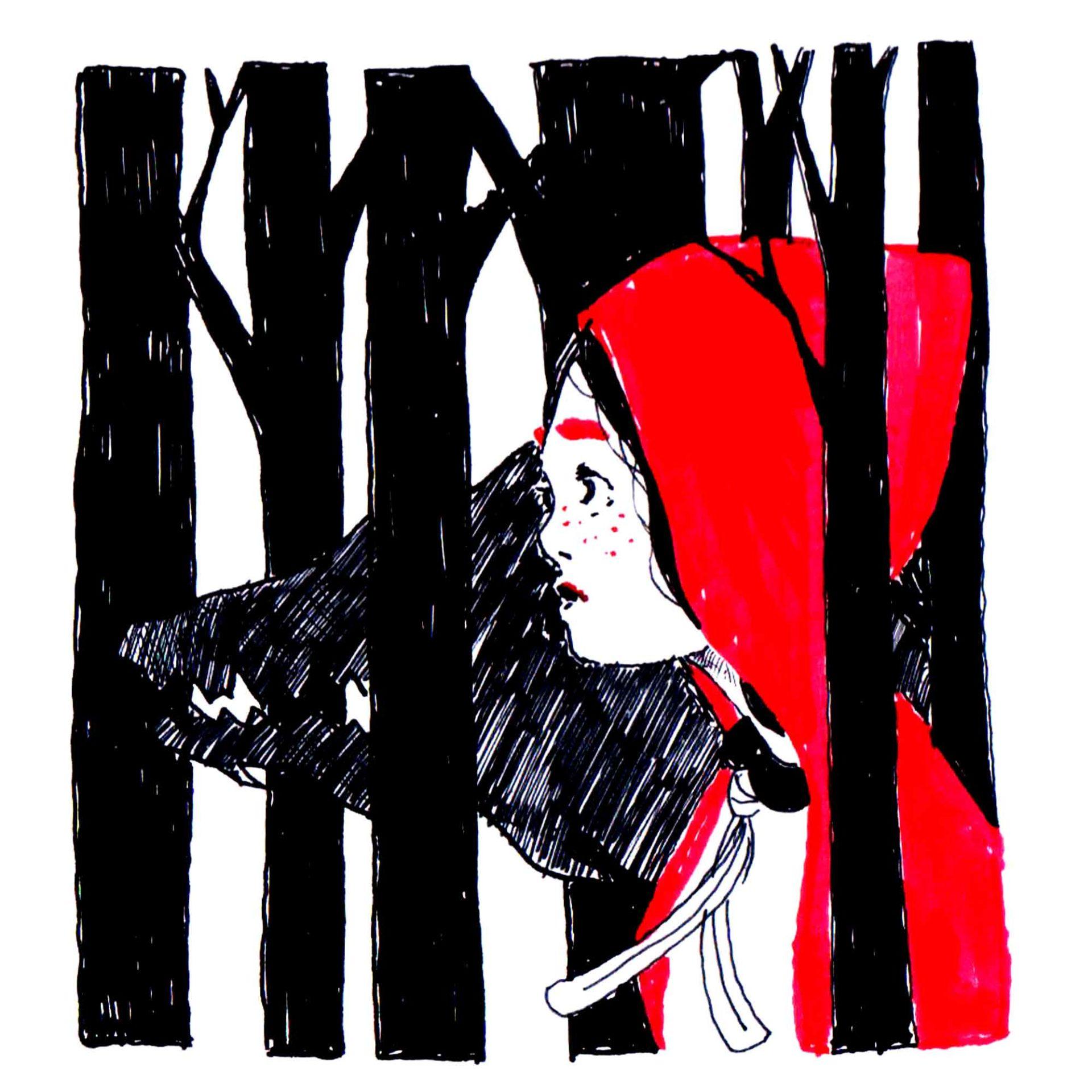 Cappuccetto Rosso Fiaba originale illustrata da Diego Gabriele