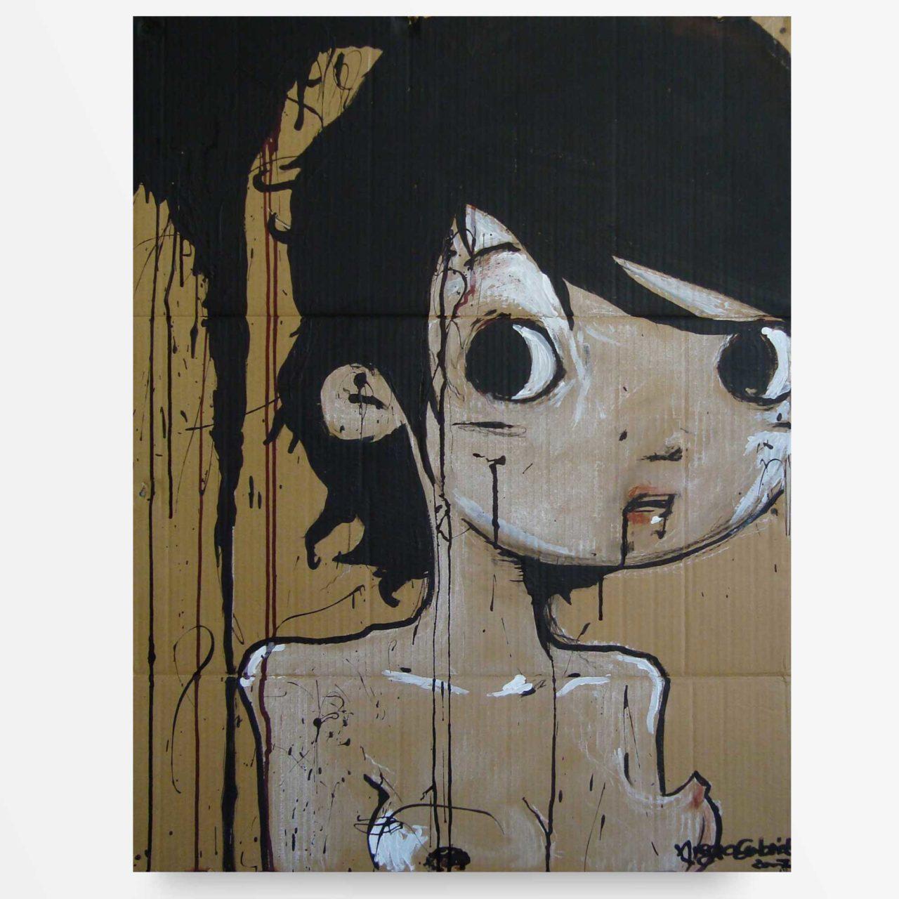 lowbrow art bimba Diego Gabriele