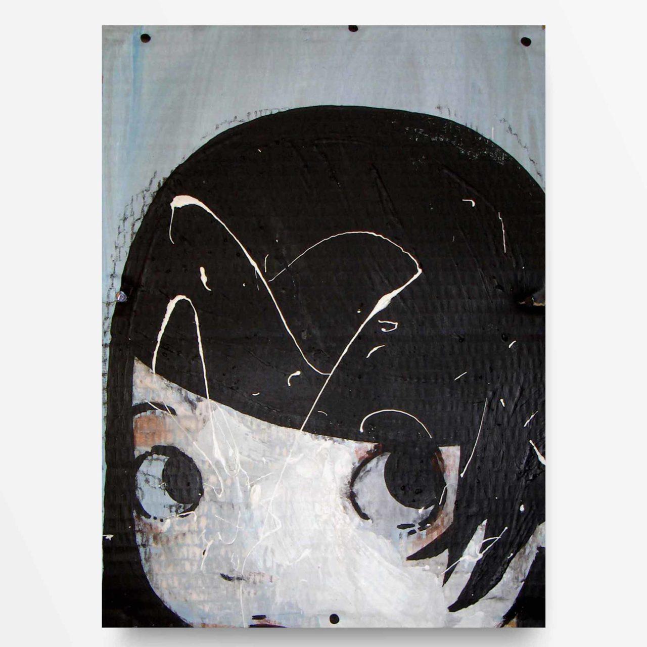 lowbrow art Petite quadro ad acrilico Diego Gabriele
