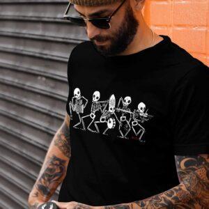 Danza Macabra Tshirt by Diego Gabriele