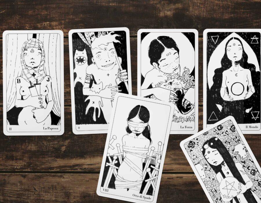 Disegnare Tarocchi del Disordine - Disorder Tarot di Diego Gabriele