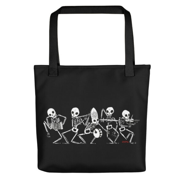 Danza Macabra Shopping Bag Nera by Diego Gabriele