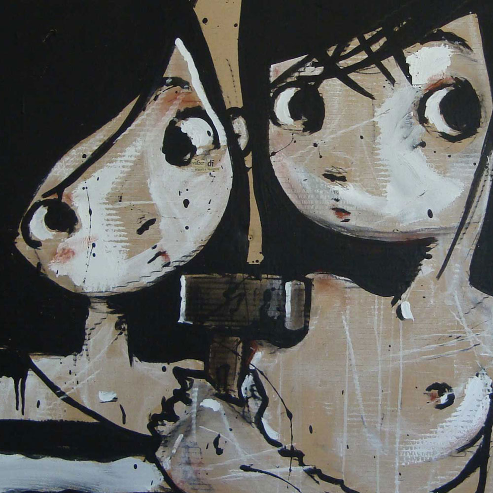 Cute art LowBrow art Pop Surrelism Bimbe di Diego Gabriele