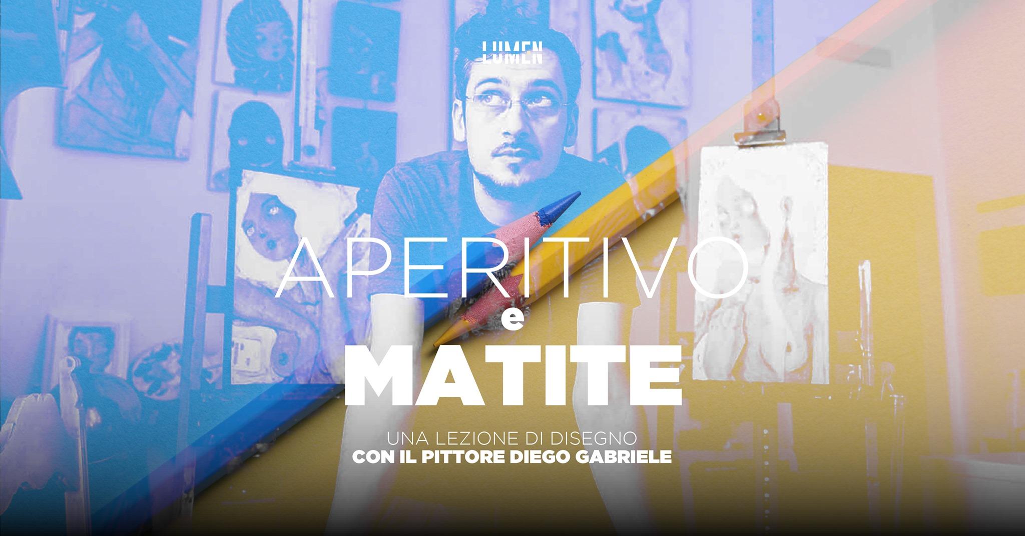 Aperitivo e Matite una lezione di disegno con Diego Gabriele