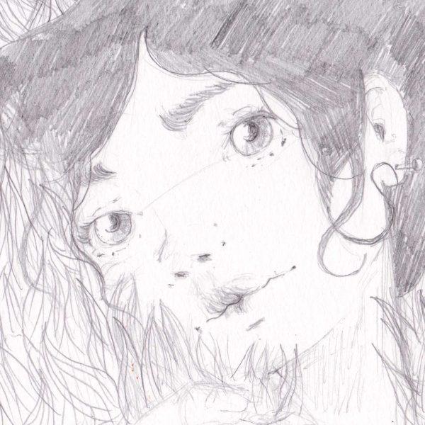 disegno originale - I tuoi occhi - Diego Gabriele