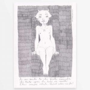 Disegno originale - La tua Normalità - Diego Gabriele