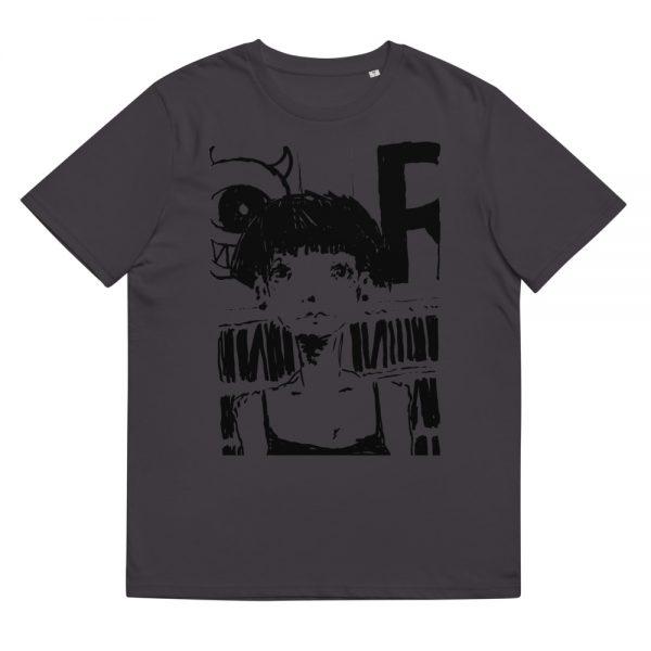 unisex organic cotton t shirt anthracite front 6109136f983e8 rock t-shirt