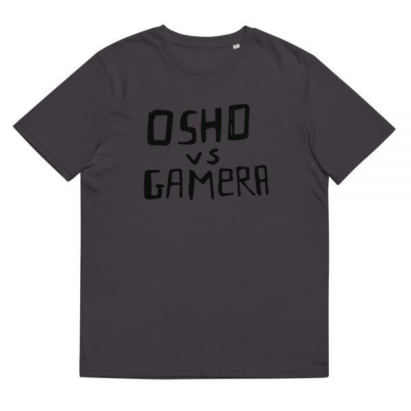 unisex organic cotton t shirt anthracite front 611259e8573f3 t-shirt 100% cotone organico