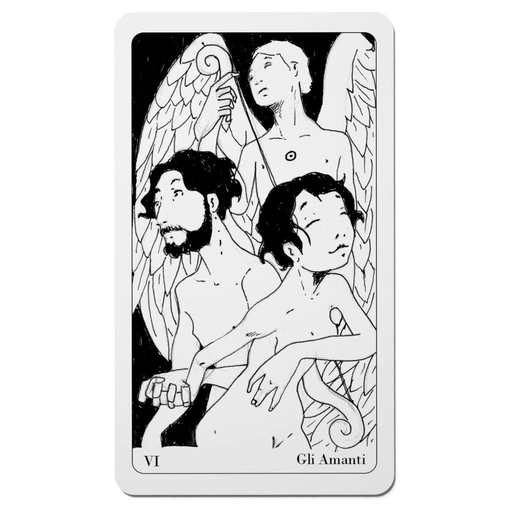 Gli Amanti - Tarocchi del Disordine Arcani Maggiori - Diego Gabriele